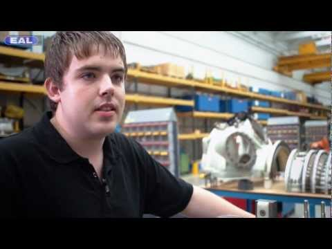 Siemens apprentice Peter Usher stars in EAL's 'How to make it in industry'