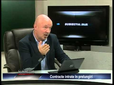 Emisiunea Subiectul zilei – Alex Călinoiu –  17 decembrie 2014