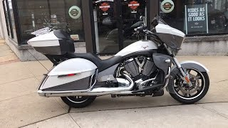 1. 2015 Victory Motorcycles Cross Country Tour Two-Tone White Pearl and Gray Bridgewater, North Brunswi