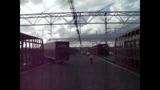 Csalagút-Eurotunnel vonatra szállás kamionnal