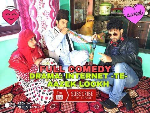 INTERNET -TE-AAZEK LOOKH #kashmiri drama/kck