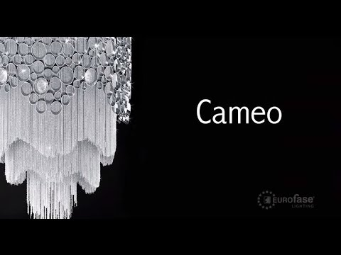 Video for Cameo Nickel Four-Light Pendant