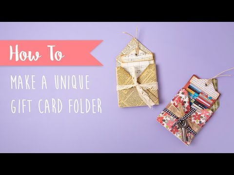 Gift Card Folder - Sizzix