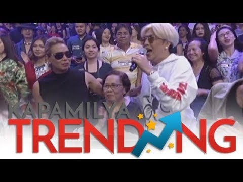 Vice's Mom visits her in It's Showtime