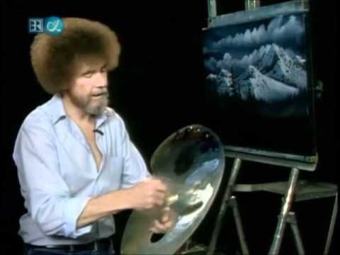 Collection - Bob Ross paints Winter landscapes
