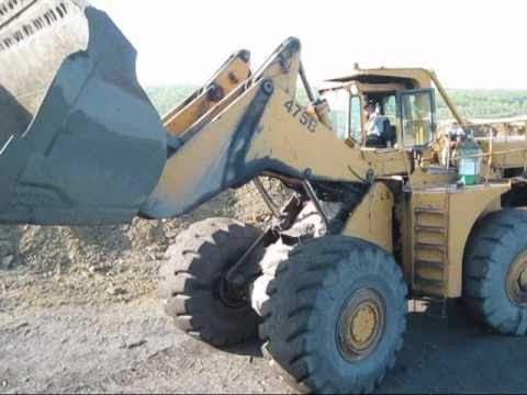 Clark-Michigan 475B Digging Overburden