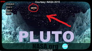 Leaked footage from NASA's New Horizons shows an UFO encounter on Pluto over the Mir mountains, and a NASA Hack by Aliens.