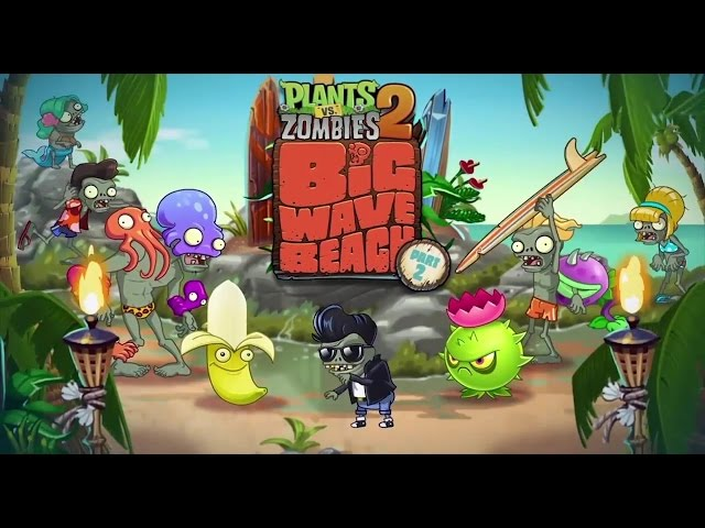 Plants vs  Zombies 2  It's About Time - Big Wave Beach Part 2 Dev Diary