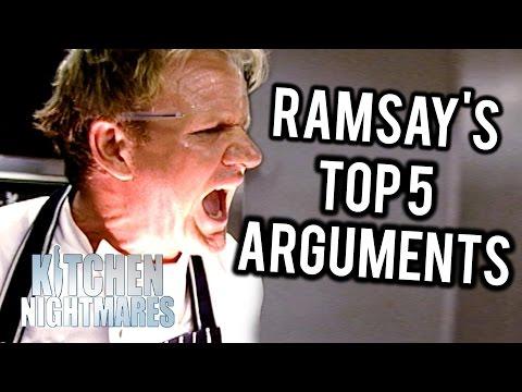 Gordon Ramsay's Top 5 British Arguments on Kitchen Nightmares UK
