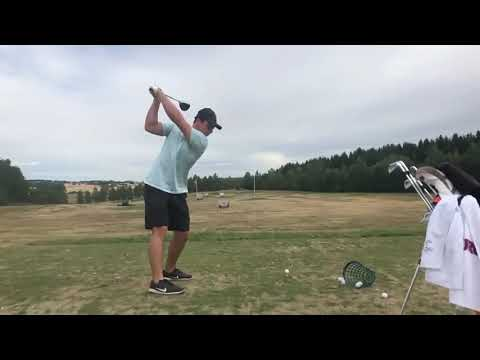 Viktor Hovland - Driver Swing DTL & CV (Before the US Amateur 2018)