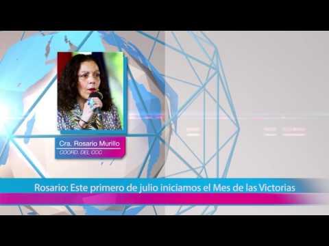 Rosario: Este primero de julio iniciamos el Mes de las Victorias