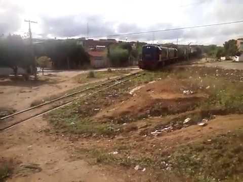 Trem dá FCA em queimadas BA