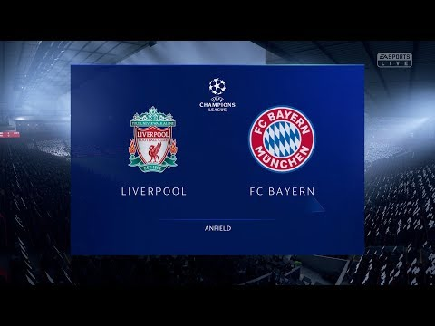 FIFA 19 Realistic | 🔥 Liverpool Vs Bayern Munich ( 1st Leg) - Champions League | Broadcast Camera
