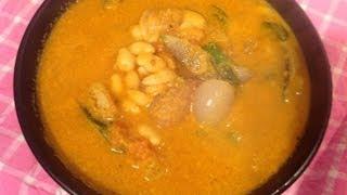 Mochakottai Murungakkai Katrikai Puli Kulambu Or Lima Beans Curry