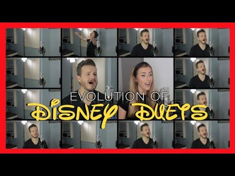 Evolution of Disney Duets