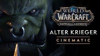 "World of Warcraft-Cinematic: ""Alter Krieger"""