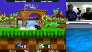 The Grand Finals set that never stops moving. Dirtboy (Squirtle) vs. Solharath (Sonic)