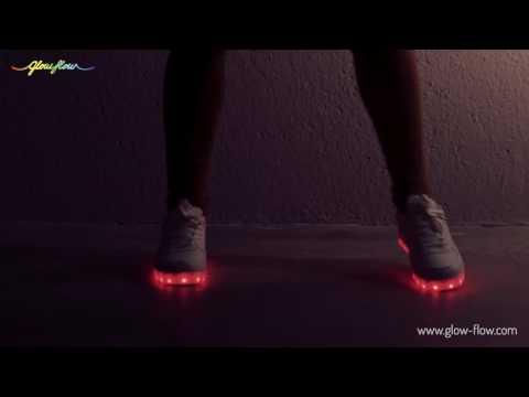 Scarpe Sportive con LED GlowFlow