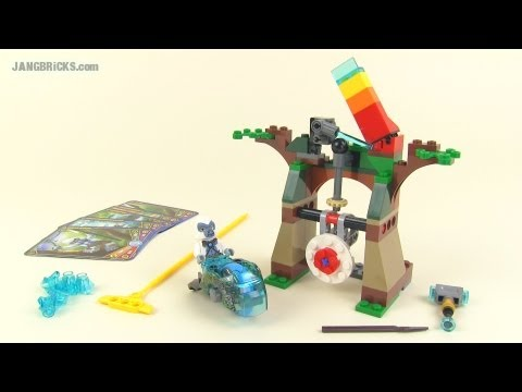 LEGO Chima Speedorz 70110 Tower Target w/ Grizzam – set Review!
