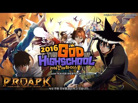 The God of High School 2016 Gameplay (KR) iOS / Android