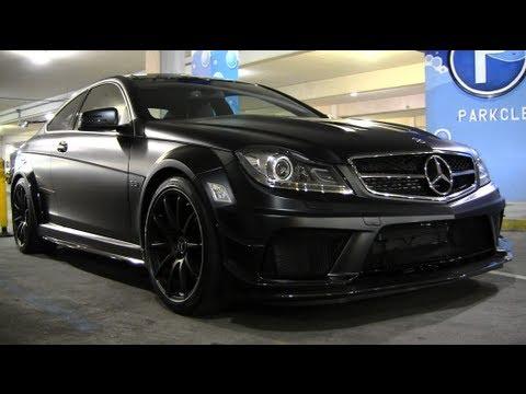 C63 Amg White Black Rims Mercedes Benz C63 Amg Black