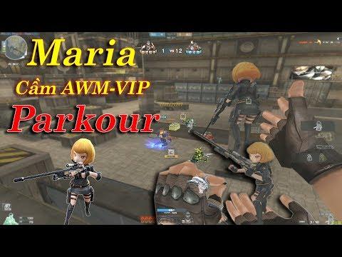Parkour Như 1 Vị Thần Cùng Với Mini Maria Cầm AWM-VIP| Rua Ngao - Thời lượng: 10:19.