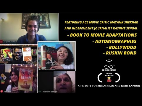 Booknerds Online Book Club:A Tribute to Irrfan Khan and Rishi Kapoor