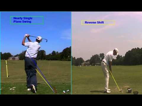 Single swing plane & reverse shift – Frank Moore Golf Academy