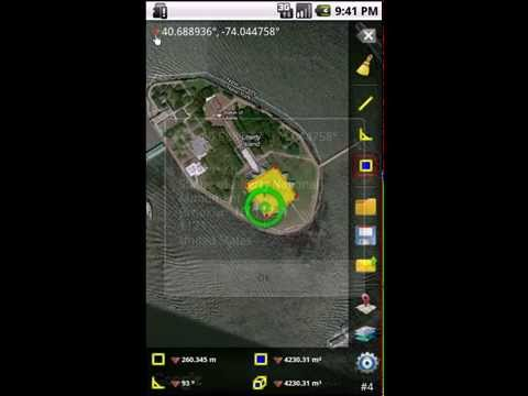 Video of GPS Area Measure Free