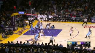 Jeremy Lin's Highlights 2014 11 24 Lakers VS Nuggets 1080p