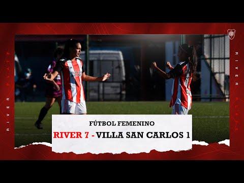 Los SIETE goles de River a Villa San Carlos