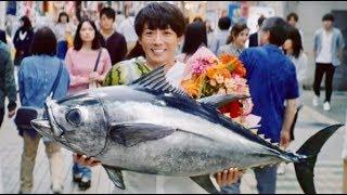 高橋一生が商店街で振りまく笑顔がステキ過ぎ/ホワイトエッセンスCM+メイキング