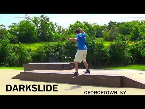 Darkslide - Georgetown Ky Skatepark - Freestyle Skateboarding