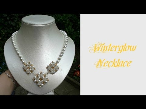 Winterglow Necklace Beading Tutorial by HoneyBeads