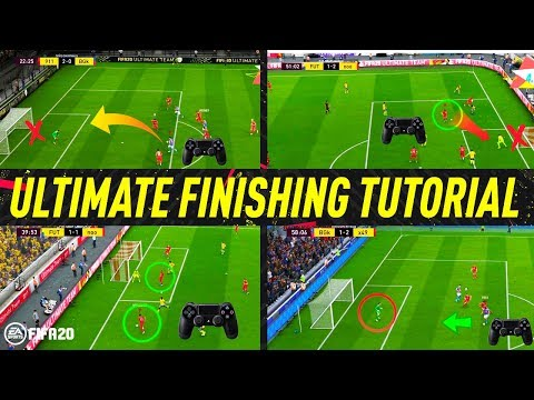 FIFA 20 ULTIMATE FINISHING TUTORIAL - SECRET SHOOTING TIPS & TRICKS - HOW TO SCORE GOALS (H2H & FUT)