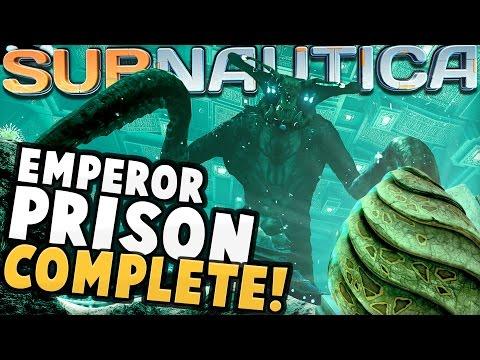 Subnautica - EMPEROR PRISON IS COMPLETE! Full-Size Emperor, Egg Hatching, & More - Subnautica Update (видео)