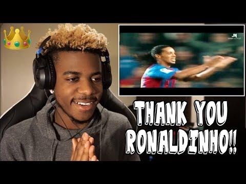 RONALDINHO - FOOTBALL'S GREATEST ENTERTAINMENT 👑🤙🏾   Reaction (Tribute)