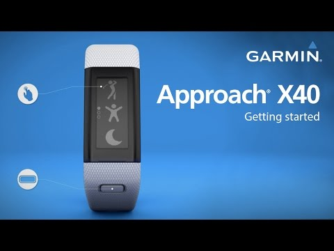 Garmin Approach X40: Getting Started Golfing