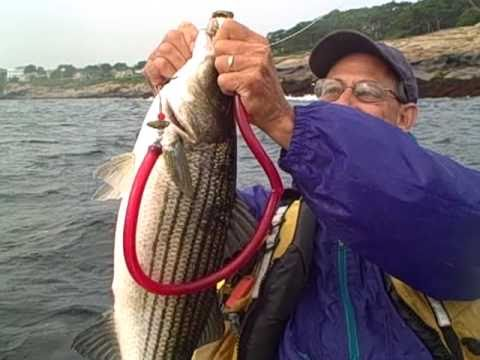 Kayak Fishing Baits for striped bass