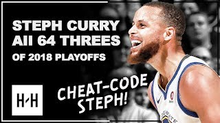 Video Stephen Curry ALL 64 Three-Pointers in 2018 Playoffs, CHEAT-CODE Steph! MP3, 3GP, MP4, WEBM, AVI, FLV Desember 2018