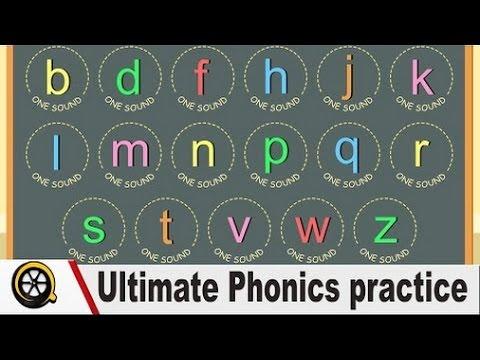 Reading English - Ultimate Phonics practice