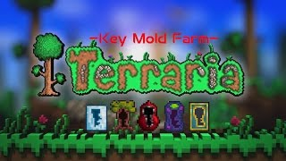Hey in this video i'm going to show you how to make a Key mold farm, this is how I'd make a Key mold farm after the new patch that stopped meteor heads from dropping them,this will take more to make but is easier to do. This farm is made to make it faster to get any type of mold, please do note that you can swap the lizard bricks out for mud blocks from the jungle as long as they have jungle grass growing on them, to do that simply place down some mud and then put some seeds on it, for the purpose of saving time i have went with lizard bricks as they are easier to place , i'm using the G-mod for terraria to give my self the items needed to build this as with all other videos. this is for the purpose of saving time and making the build a lot faster for me to do.If you want to achieve the same as me, then you can do so by downloading from the link below.World Download: http://adf.ly/18NrRxPlease make sure you share, subscribe and like my videos.Also please see last video on How to make a Crab Engine:https://youtu.be/IAtQC6P4Wyw