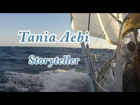Tania Aebi, solo sailor, storyteller, inspirational speaker