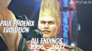 Video TEKKEN SERIES - All Paul Phoenix Endings 1995 - 2017 (1080p 60fps) MP3, 3GP, MP4, WEBM, AVI, FLV Maret 2019