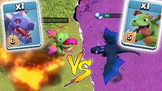 WHO IS STRONGER!?!🔸DRAGON WARS EVENT!!🔸Clash Of Clans