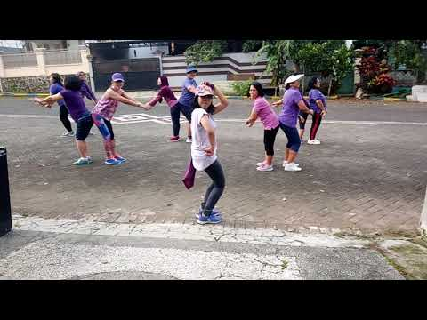 JAMAL MIRDAD-Yang Penting Happy | Choreo By ZIN EVIN | In 'Purple' With Zumba Squad Malang...