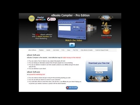 How to Create an Ebook | eBook Software | Ebook Publishing Software | eBook Compiler Software