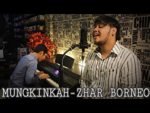 Mungkinkah - Stinky ( Zhar Borneo X Enjoy Cover ) Live Piano Cover - #zharcover