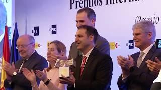 S.M. el Rey entrega Premios Rey de España a informadores de ocho países