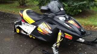 10. Very clean 2003 MXZ 600 with electric start and reverse